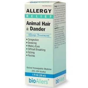 Check out over-the-counter bioAllers Animal Hair & Dander all natural cat…
