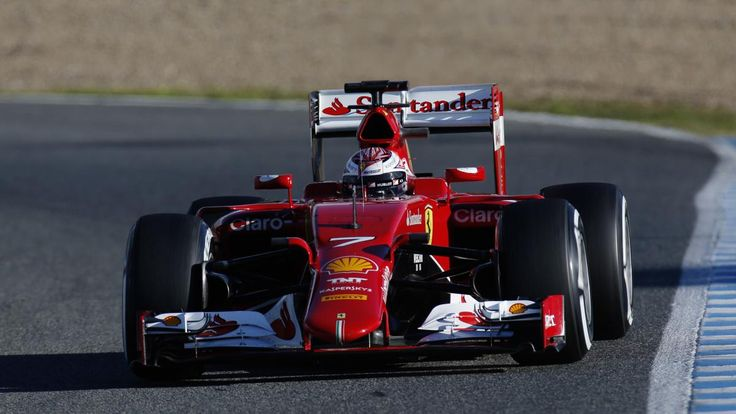 The opening test of the 2015 Formula One season in Jerez came to an end Wednesday with the two Ferrari-powered cars once again at the top of the times.Kimi Raikkonen set the fastest time of the ...