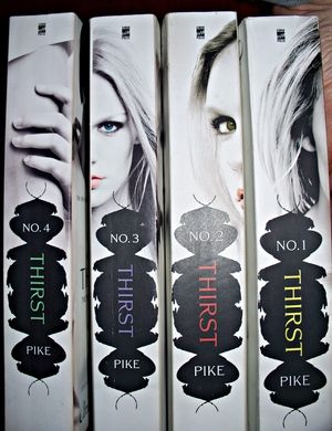 Thirst series by Christopher Pike. Love these books! Delightfully entertaining pleasure reads.
