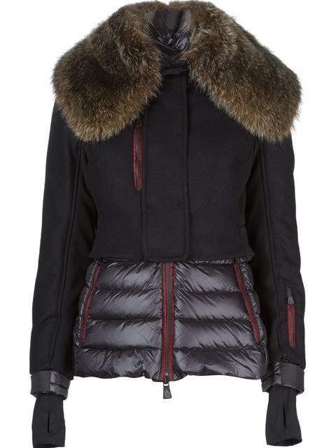Shop Moncler Grenoble 'Mende' padded ski jacket in  from the world's best independent boutiques at farfetch.com. Over 1000 designers from 300 boutiques in one website.