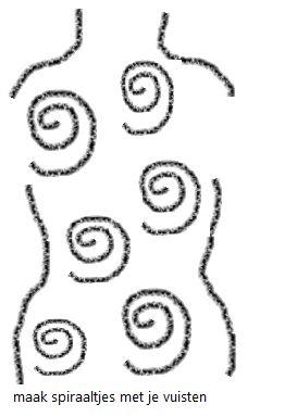 Kindermassage met als thema sneeuw. Met duidelijke tekst en uitleg door ekkomi.