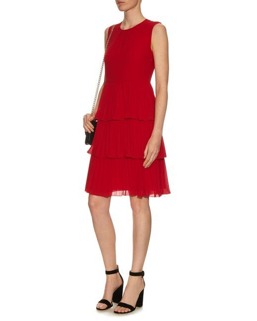 Red cocktail dress cheap golf
