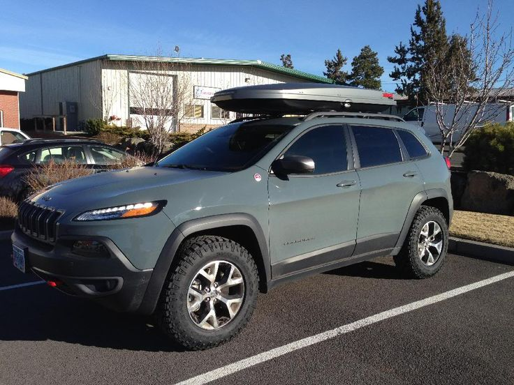 Max Tire Size On The Trailhawk Jeep Cherokee Kl 2014 On