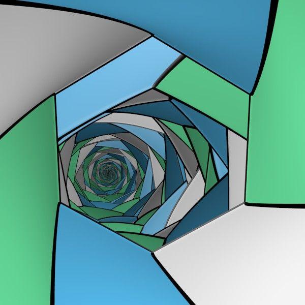 Infinity Mirror Room / #Hexagon