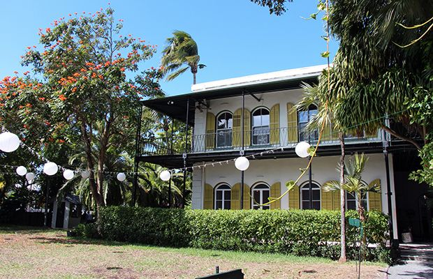 Ernest Hemingway house Key West/flickr/Karl Norling