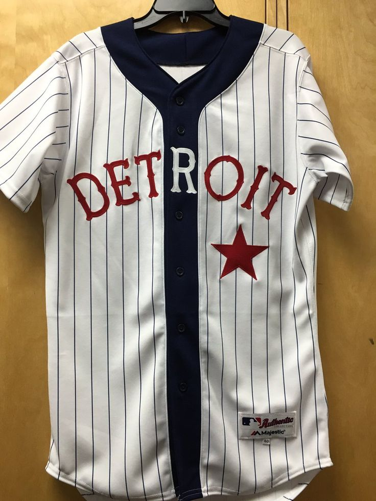 JUN 4:  The Tigers are wearing the Detroit Stars throwback uniforms today for the 22nd Annual Negro Leagues Tribute Game.
