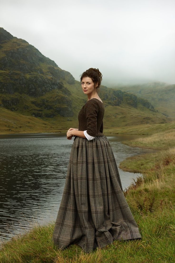 Caitriona Balfe as Claire Randall Fraser in Outlander Season One on Starz
