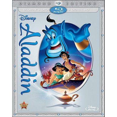 Aladdin [Diamond Edition] [2 Discs] [Blu-ray/DVD] - shows more content
