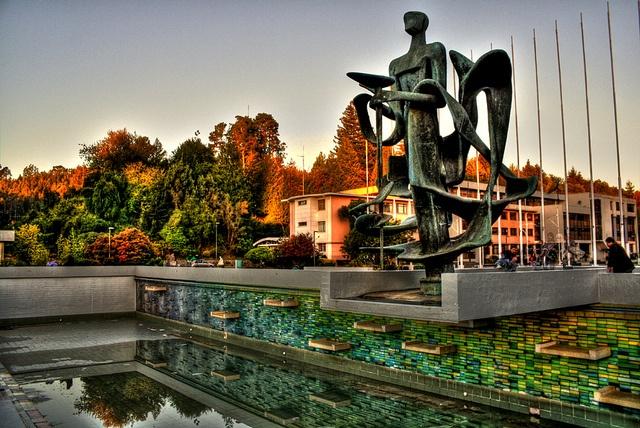 Foro Universidad de Concepción, Chile. Fotografía HDR... IMPRESIONANTE!