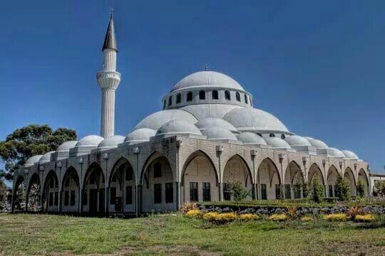 The Sunshine Mosque in Australia.