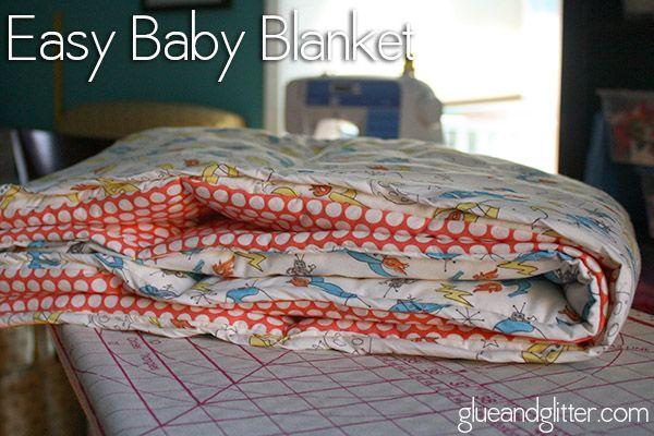 Nursery Crafts: Easy Baby Blanket