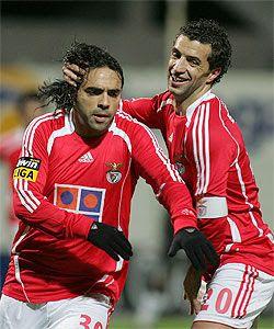 Miccoli e Simão, Benfica