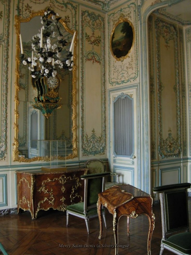 Interior view of the apartment, Versailles.