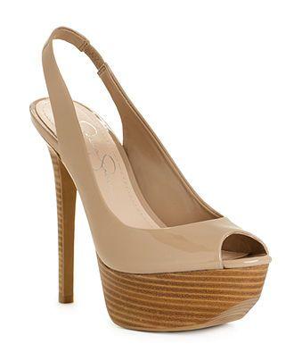 Jessica Simpson Shoes, Halie Platform Pumps - Juniors Shoes - Shoes - Macy's
