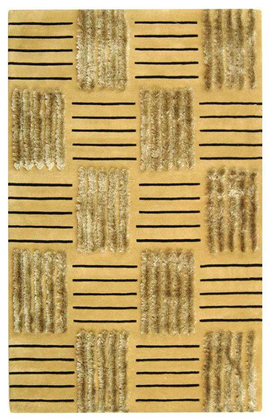 Cross Hatch Rug Pattern. Safavieh Soho SOH321A Gold Area Rug