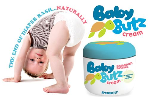 Save that soft baby bottom! Have to try Baby Butz cream for your little one. It's amazing.