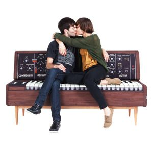 柔らかDJソファ - 1〜4人で座れるインパクト家具