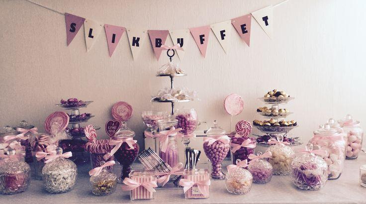 Arranger et sikkert hit af en slikbuffet til dine bryllupsgæster