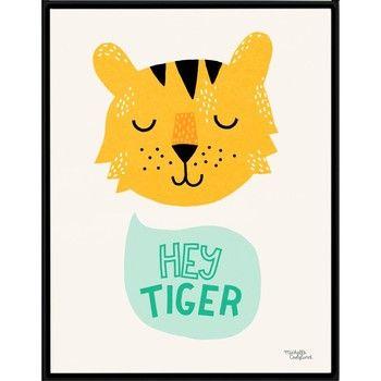 Plakát Hey Tiger , A4 | Bonami