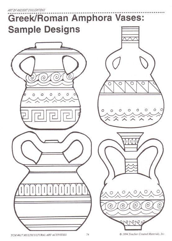 ancient greek vase shapes - Αναζήτηση Google