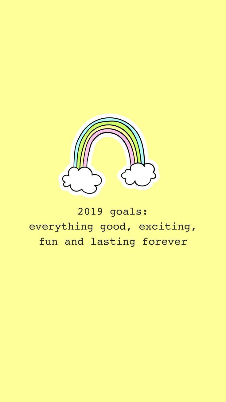 2019 Goals Forever Yellow Theme Tumblr Cool Instagram Prodigy Takes