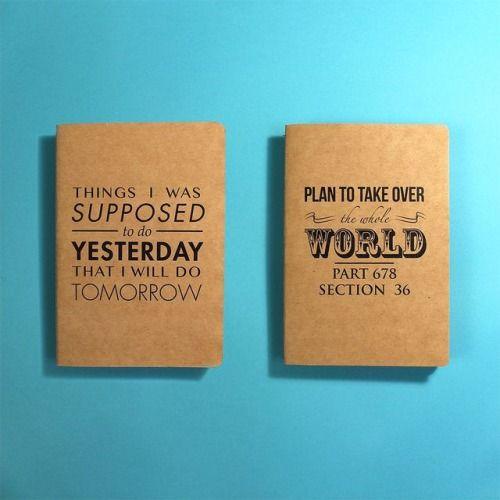 fuckyeahnotebooks:  Fancy Notebooks (by jose antonio suarez estevez)