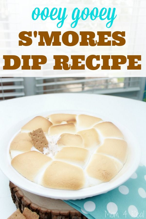 I am so excited to have one of my Kentucky buddies here with us today! Jessica from Mom 4 Real is sharing a delicious S'mores Dip Recipe! See more at www.mom4real.com
