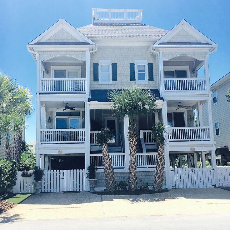 House vacation rental in Wrightsville Beach, NC, USA from VRBO.com! #vacation #rental #travel #vrbo