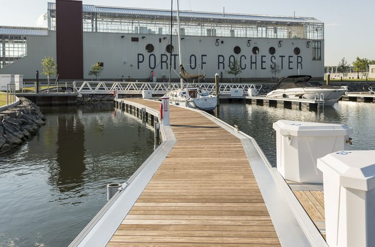 Settled along the shore of a city rich in retail, dining and tourist attractions, the addition of the Port of Rochester Marina secures the city as a top Great Lakes destination. The new marina offers patrons traditional boating amenities, including pump-out services, a public boat launch and a small ship store, as well as modern amenities like Wi-Fi, electricity and clean drinking water. In addition to connecting to the lake and river, the marina also connects with the Charlotte Pier and the…