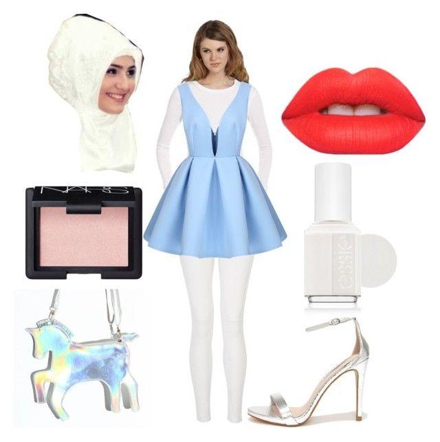 """Cinderella with veil."" by nabillasyarah on Polyvore"