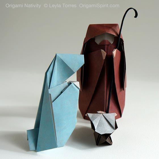 How to Make an Origami Nativity Scene: Joseph –Part 1 of 3