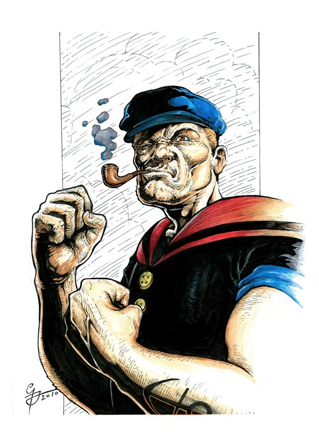 31 Best Images About Popeye On Pinterest Pablo Picasso