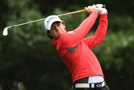 Rory Mcllroy @ The Masters 2012