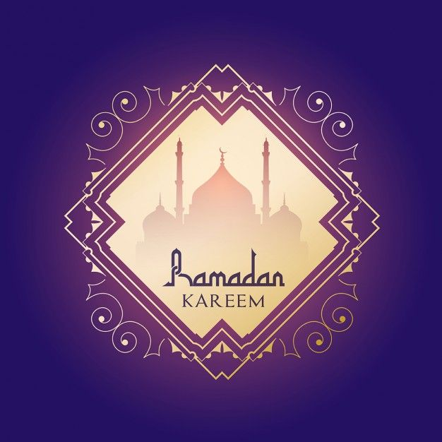 Decorative background for ramadan Free Vector