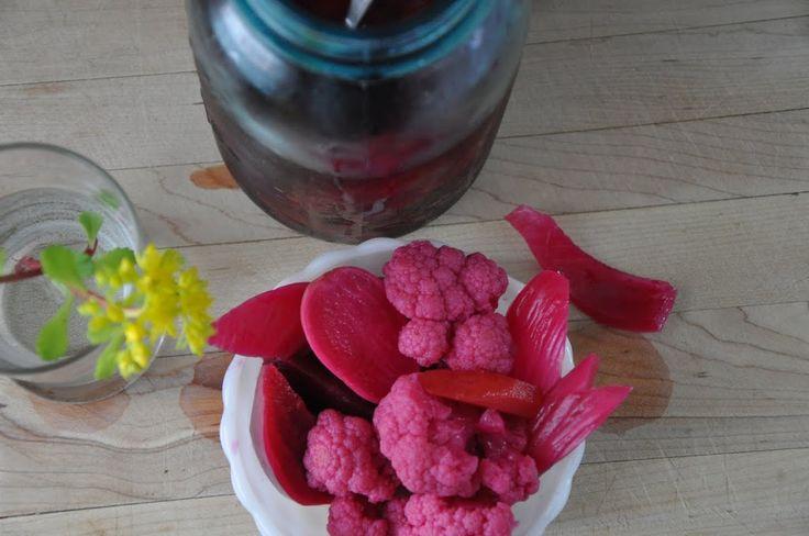 Basic Pickled Vegetables Recipe