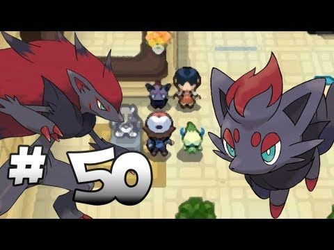 Let's Play Pokemon: Black - Part 50 - Zorua & Zoroark