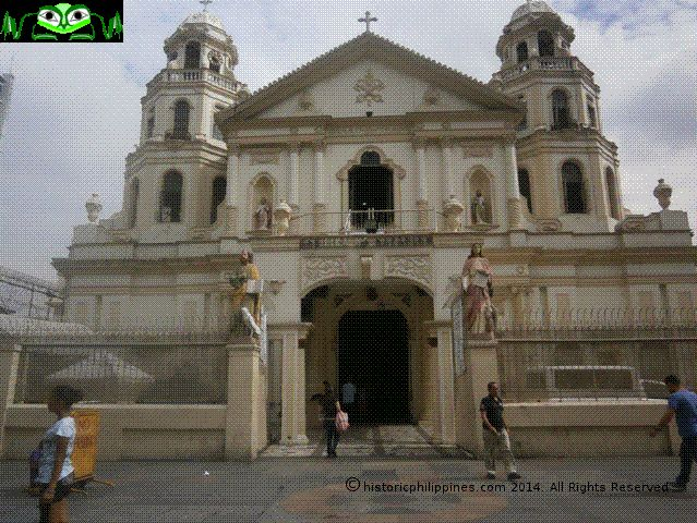 Church of the Black Nazarene, Quiappo Historic Philippines & Old Philippines — WordPress