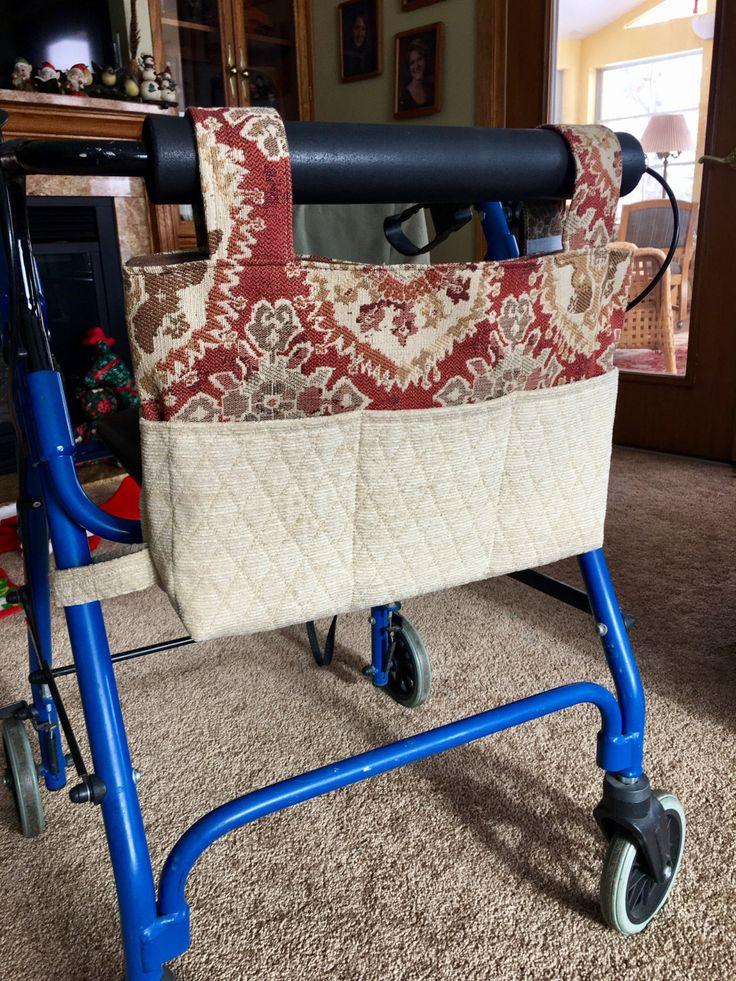 Elegant walker bag walker tote gift for grandma