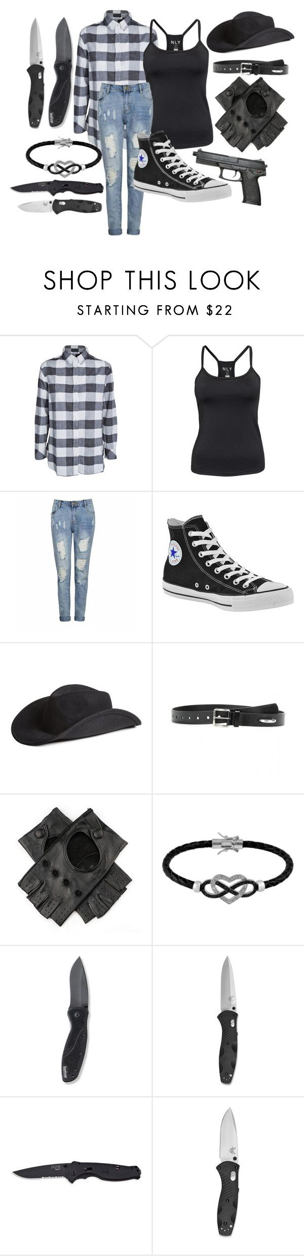 """Evan Rhee *The Walking Dead Fanfiction* Outfit 2"" by lauren-mossgotheridge ❤ liked on Polyvore featuring Gat Rimon, Ally Fashion, Converse, H&M, Acne Studios, Jewel Exclusive and Kershaw"