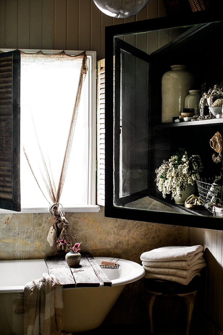 Bathroom step inside a renovated georgian town house housetohome - Stylist At Home Kara Rosenlund Greige Design