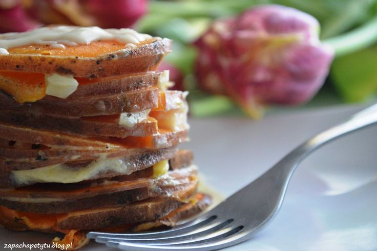 Sweet potato gratin  #zapachapetytu #sweetpotato #gratin