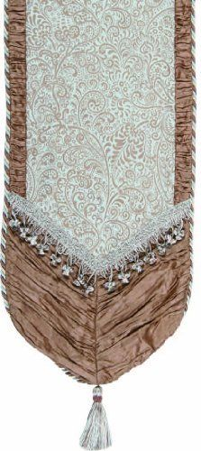 Jennifer Taylor 2612-394433 Table Runner, 16-Inch by 120-Inch, Cover 40-Percent…
