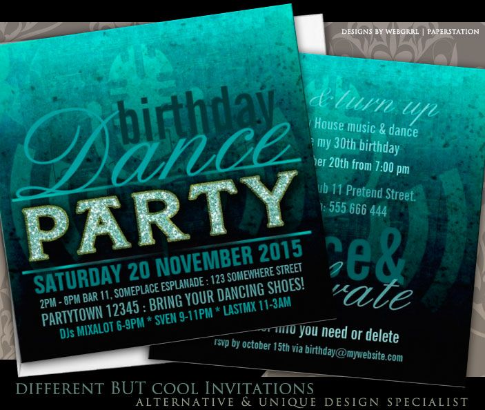 39 best Birthday Party Invitations images on Pinterest
