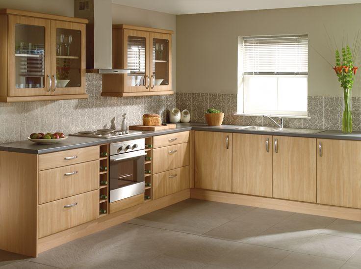 #Walnut #Portofino #Kitchen from John Nicholls #HomeDecor