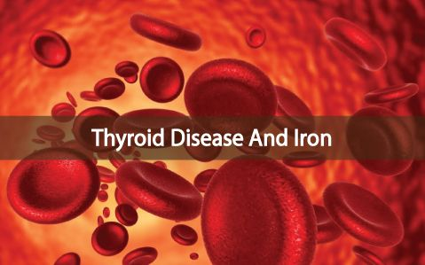 Iron deficiency is not good for your body's health and your thyroid, especially. Make sure to check for more than just serum iron levels and