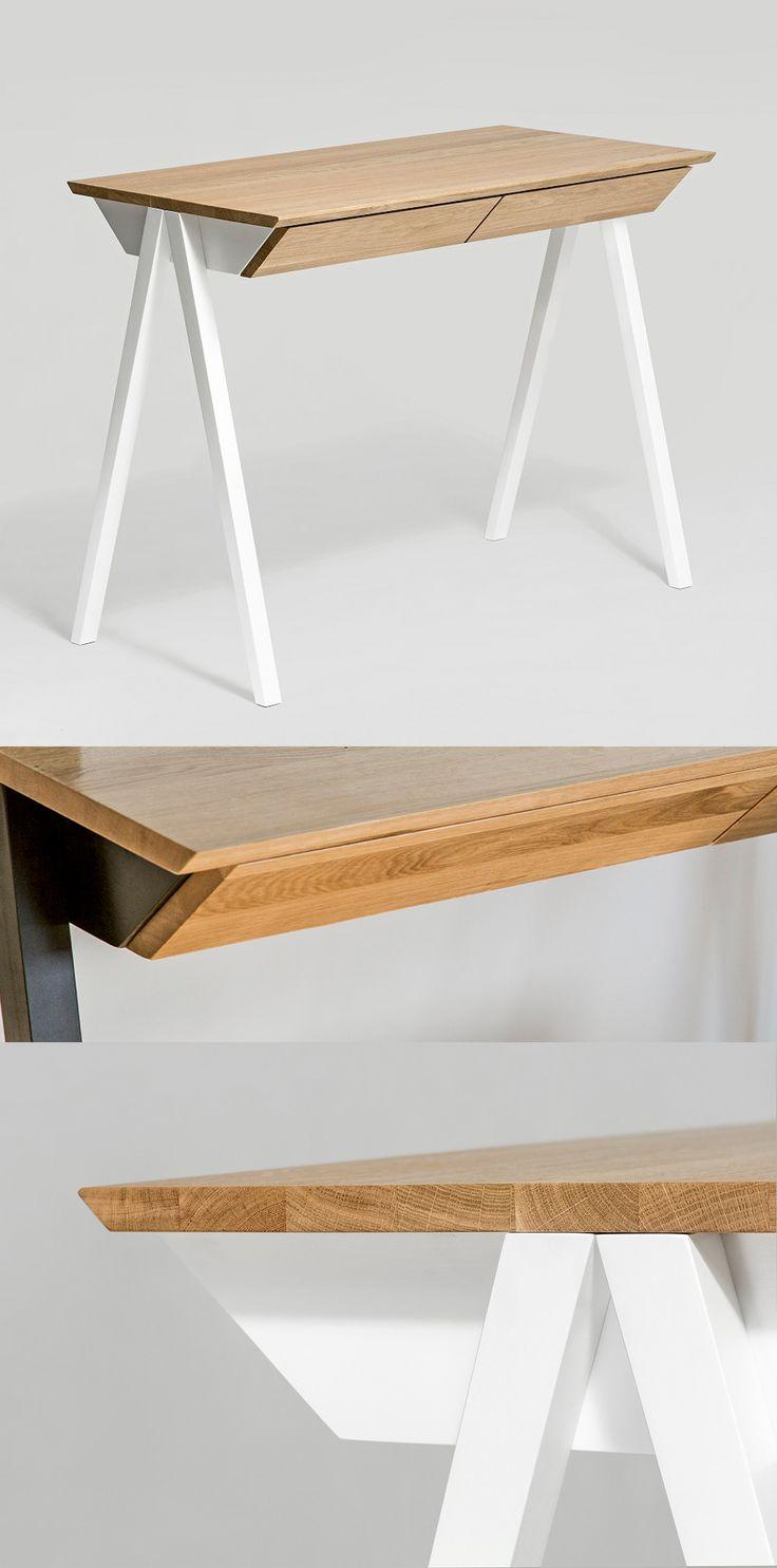 Piękne biurko Vogel o minimalistycznym designie to nowość marki Borcas! Znajdź więcej na: www.euforma.pl #borcas #desk #biurko #design #polishdesign