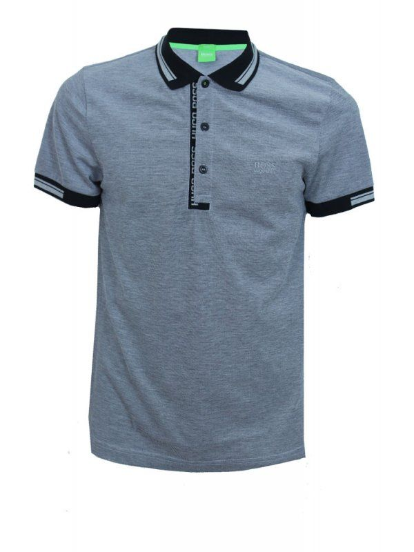 HUGO BOSS Green Paule 4 Polo - Black