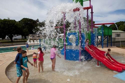 Brand new water park - BIG4 Harrington Holiday kids activities