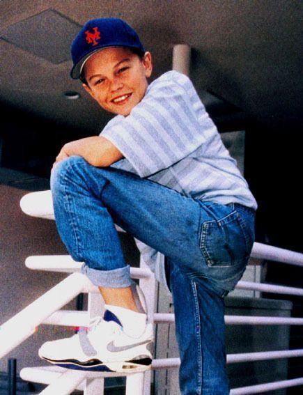 Leonardo DiCaprio - young