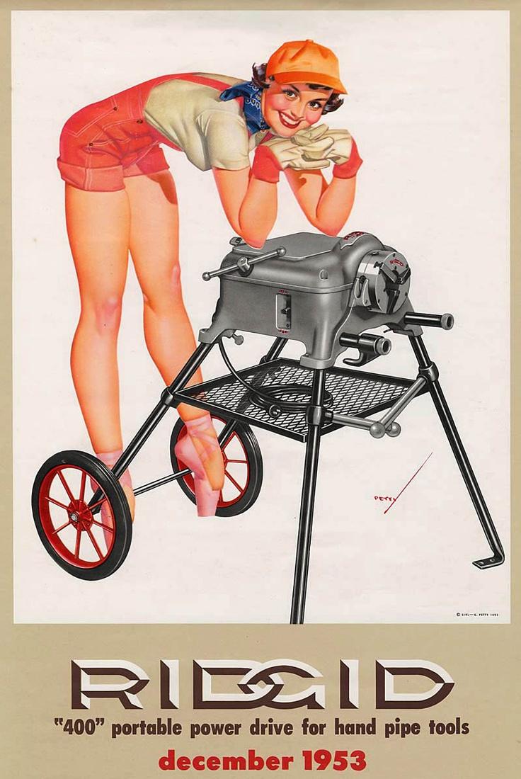Calendar Art Models : George petty pin up artist esquire vintage girls